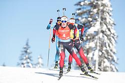 Johannes Dale of Norway - Johannes Thingnes Bö of Norway competes during the IBU World Championships Biathlon Men Pursuit competiton, on February 14, 2021 in Pokljuka, Slovenia. Photo by Vid Ponikvar / Sportida