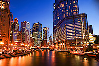 Chicago River featuring Trump International Hotel & Tower