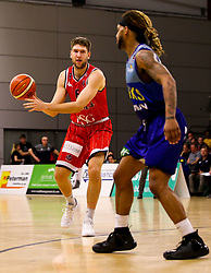Mike Vigor of Bristol Flyers - Photo mandatory by-line: Robbie Stephenson/JMP - 29/03/2019 - BASKETBALL - English Institute of Sport - Sheffield, England - Sheffield Sharks v Bristol Flyers - British Basketball League Championship