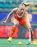 DEN HAAG - JACKY SCHOENAKER. Nederland speelt oefenwedstrijd tegen USA in het Kyocera Stadion. COPYRIGHT KOEN SUYK