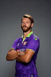 Nathan Baker of Bristol City during the 20/21 media day - Rogan/JMP - 31/08/2020 - Ashton Gate Stadium - Bristol, England.