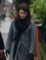 © Licensed to London News Pictures.16/12/2013. London, UK. Italian Sisters Elisabetta 'Lisa' and Francesca (not pictured) Grillo, who are the former personal assistants to Charles Saatchi and Nigella Lawson, arriving at Isleworth Crown Court in London. The pair, who face fraud charges, are accused of misappropriating funds while working for Saatchi and Lawson.Photo credit : Peter Kollanyi/LNP
