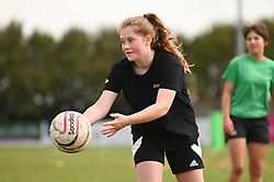 Exeter Chiefs Girls Rugby Camp - Mandatory by-line: Dougie Allward/JMP - 30/08/2019 - SPORT - Bridgewater - Exeter, England<br />  - Exeter Chiefs Girls Rugby Camp