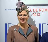 Koningin Maxima aanwezig bij Prix de Rome 2013