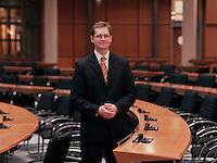 09 JAN 2004, BERLIN/GERMANY:<br /> Michael Mueller, SPD Fraktionsvorsitzender im Berliner Abgeordnetenhaus, Plenarsaal, Preussischer Landtag<br /> IMAGE: 20040109-01-03-03<br /> KEYWORDS: Michael Müller