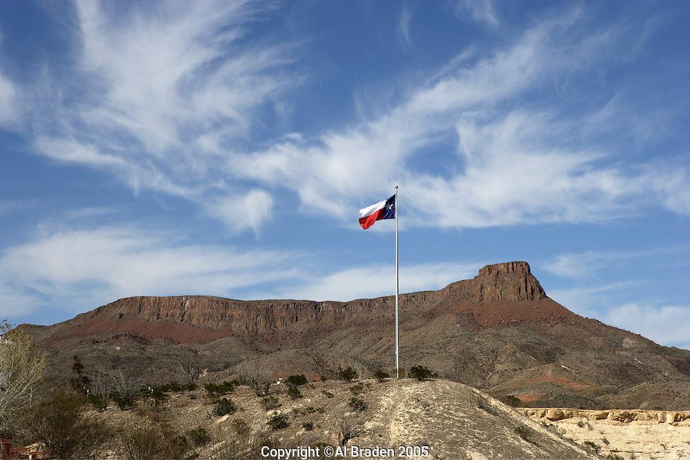 Black Mesa at Lajitas, Big Bend Ranch State Park, Texas
