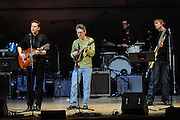 Calexico performs at The Music of R.E.M. at Carnegie Hall, a tribute concert to benefit musical education programs for underprivileged youth.