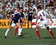FIFA World Cup - Italia 1990.Gabriel Calder--n - Argentina.©JUHA TAMMINEN