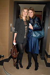 Left to right, actress ROSAMUND PIKE and TOR GOODER at a lunch hosted by Ralph Lauren to present their Spring 2007 collection in support of the Serpentine Gallery's Education Programme, held at Fifty, 50 St.James's Street, London SW1 on 20th March 2007.<br /><br />NON EXCLUSIVE - WORLD RIGHTS