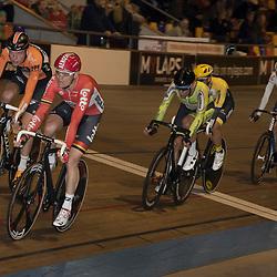 20-12-2015: Wielrennen: NK Baan: Alkmaar<br />ALKMAAR (NED) baanwielrennen  <br />Pim Ligthart, Jesper Asselman, Wim Stroetinga, Barry Markus, Martijn Tusveld