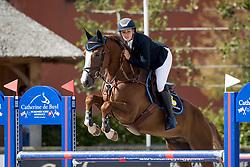 De Doncker Anne, BEL, Quano Van Klapscheut<br /> BK Young Horses 2020<br /> © Hippo Foto - Sharon Vandeput<br /> 6/09/20