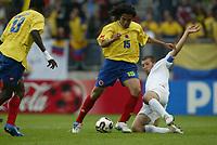 Fotball <br /> FIFA World Youth Championships 2005<br /> Tilburg<br /> Nederland / Holland<br /> 12.06.2005<br /> Foto: ProShots/Digitalsport<br /> <br /> Colombia v Italia<br /> <br /> dayro moreno
