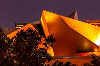 Titanium clad Hamilton Building, Denver Art Museum, Downtown Denver, Colorado USA
