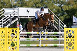 Beerse Kevin, NED, Gilona AO<br /> Nederlands Kampioenschap Springen<br /> De Peelbergen - Kronenberg 2020<br /> © Hippo Foto - Dirk Caremans<br />  06/08/2020