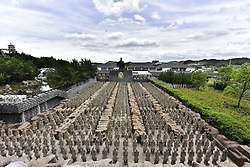 June 6, 2017 - Anqin, Anqin, China - Anqing, CHINA-June 6 2017: (EDITORIAL USE ONLY. CHINA OUT) ..The replica of terracotta army attracts many visitors at a scenic area in Anqing, east China's Anhui Province, June 6th, 2017. Thousands of terracotta warriors can be seen at the scenic area. (Credit Image: © SIPA Asia via ZUMA Wire)