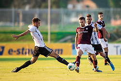 Elvedin Herić of Triglav during football match between NK Triglav and NS Mura in 5th Round of Prva liga Telekom Slovenije 2019/20, on August 10, 2019 in Sports park, Kranj, Slovenia. Photo by Vid Ponikvar / Sportida