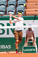 Kei Nishikori (jpn) during the Roland Garros French Tennis Open 2018, day 8, on June 3, 2018, at the Roland Garros Stadium in Paris, France - Photo Pierre Charlier / ProSportsImages / DPPI