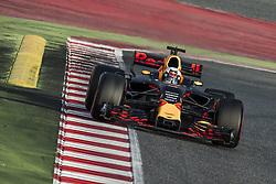 March 7, 2017 - DANIEL RICCIARDO (AUS) drives on the track during day 5 of Formula One testing at Circuit de Catalunya (Credit Image: © Matthias Oesterle via ZUMA Wire)