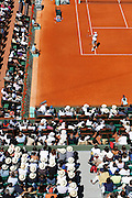 Roland Garros 2011. Paris, France. May 28th 2011..American player Mardy FISH against Gilles SIMON