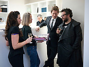 ALISON JACQUES; SHEENA WAGSTAFF; ROGER TATLEY;HALUK AKAKCE; , Haluk Akakce; Coming Home. Exhibition of work at the Alison Jacques Gallery. 29 April 2010. *** Local Caption *** -DO NOT ARCHIVE-© Copyright Photograph by Dafydd Jones. 248 Clapham Rd. London SW9 0PZ. Tel 0207 820 0771. www.dafjones.com.<br /> ALISON JACQUES; SHEENA WAGSTAFF; ROGER TATLEY;HALUK AKAKCE; , Haluk Akakce; Coming Home. Exhibition of work at the Alison Jacques Gallery. 29 April 2010.