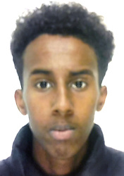 """Undated handout photo issued by the Metropolitan Police of Hussein Ahmed. Two 15-year-old gang members who murdered the innocent teenager with a """"Rambo-style knife"""" in a revenge attack have been handed life sentences at the Old Bailey, London."""