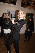 EVA HERZIGOVA, Vogue100 A Century of Style. Hosted by Alexandra Shulman and Leon Max. National Portrait Gallery. London. WC2. 9 February 2016.