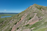 It was a beautiful morning for a quick hike up to the top of Bear Butte.