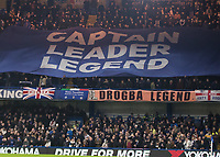Football - 2019 / 2020 Premier League - Chelsea vs. Aston Villa<br /> <br /> Chelsea pay tribute to their former captain John Terry as he returns with his new team Aston Villa at Stamford Bridge <br /> <br /> COLORSPORT/DANIEL BEARHAM