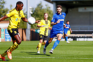 Wimbledon midfielder Anthony Wordsworth (40) in action  during the EFL Sky Bet League 1 match between Burton Albion and AFC Wimbledon at the Pirelli Stadium, Burton upon Trent, England on 1 September 2018.