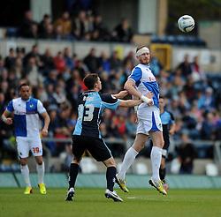 Bristol Rovers' Matt Harrold flicks the ball on - Photo mandatory by-line: Dougie Allward/JMP - Mobile: 07966 386802 26/04/2014 - SPORT - FOOTBALL - High Wycombe - Adams Park - Wycombe Wanderers v Bristol Rovers - Sky Bet League Two