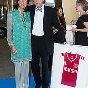 NLD/Amsterdam/20140405 - Inloop Ronald McDonald Gala 2014, Ajax bestuurslid