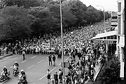 Thousands took part in the Women's Peace March, organised as part of the Peace Movement set up by Betty Williams and Mairead Maguire in Northern Ireland. The march went from St. Stephen's Green to Leinster House, to plead for peace and an end to the continuing violence in Northern Ireland. <br /> 28/08/1976