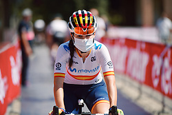 Lourdes Oyarbide (ESP) at Strade Bianche - Elite Women 2020, a 136 km road race starting and finishing in Siena, Italy on August 1, 2020. Photo by Sean Robinson/velofocus.com