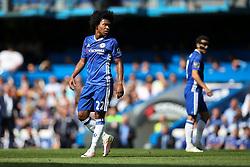 Willian of Chelsea - Mandatory byline: Jason Brown/JMP - 15/05/2016 - FOOTBALL - London, Stamford Bridge - Chelsea v Leicester City - Barclays Premier League