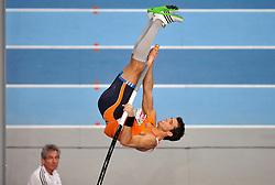 06-03-2011 ATHELETICS: EUROPEAN ATHLETICS INDOOR CHAMPIONSHIPS: PARIS<br /> European Athletics Indoor Championships Paris / Eelco Sintnicolaas<br /> © Ronald Hoogendoorn Photography