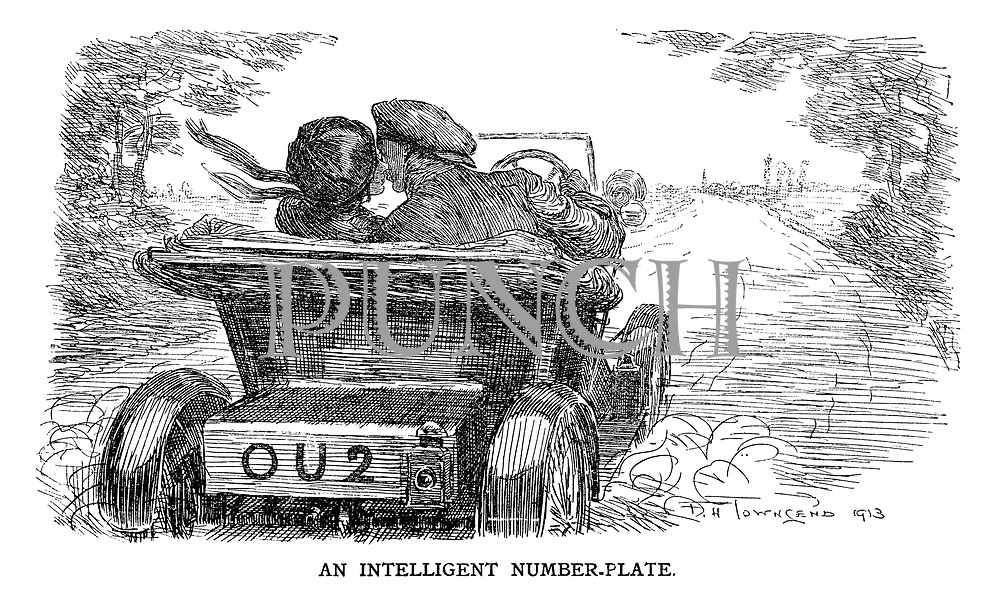 An intelligent number-plate.