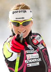 Petra Majdic during media day of Slovenian Nordic Cross country team, on October 21, 2010 in Ramsau am Dachstein, Austria. (Photo By Vid Ponikvar / Sportida.com)
