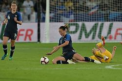 October 5, 2018 - Saint-Etienne - Stade Geoffroy G, France - Gaetane Thiney (france) vs  (Credit Image: © Panoramic via ZUMA Press)