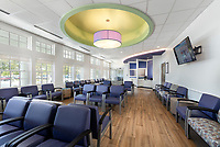 University Physicians Group Culpeper Commonwealth Medical interior design photo by Jeffrey Sauers of Commercial Photographics