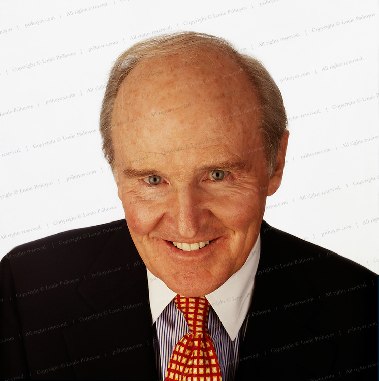 Jack Welch, CEO of General Electric, one of the world's most admired companies.  He is the author of several books and is considered one of the best business leaders.