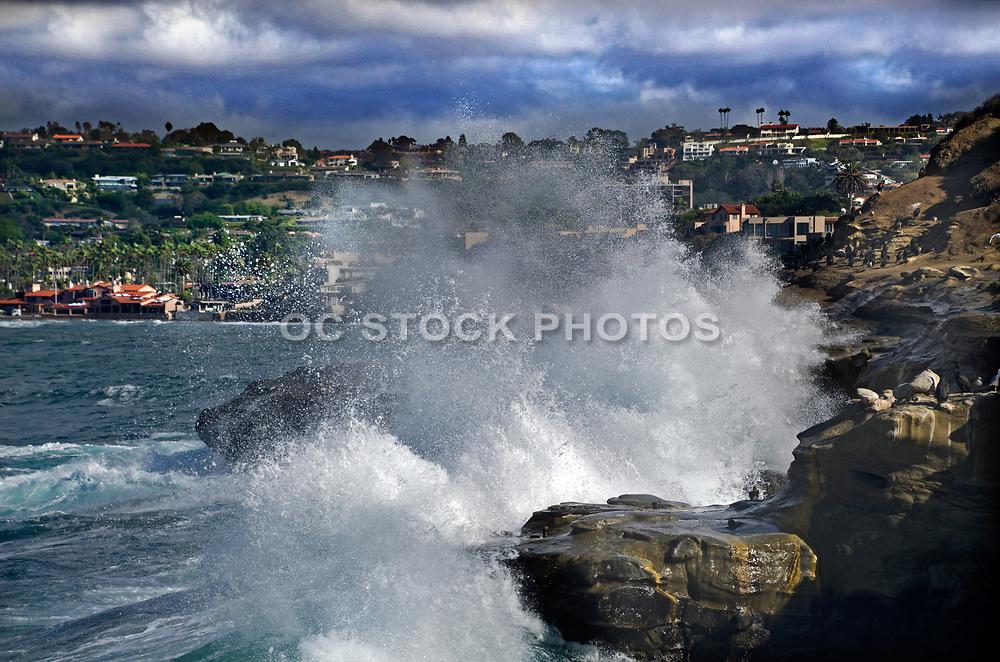 Crashing Waves at La Jolla Cove