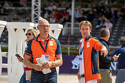 Bles Bart, NED, Ehrens Rob, NED<br /> European Championship Jumping<br /> Rotterdam 2019<br /> © Hippo Foto - Dirk Caremans<br /> Bles Bart, NED, Ehrens Rob, NED
