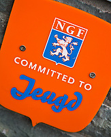 NUNSPEET - Logo NGF, Committed to Jeugd. Golfbaan RIJK VAN NUNSPEET, COPYRIGHT KOEN SUYK