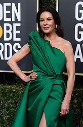January 6, 2019 - Beverly Hills, California, United States of America - Catherine Zeta-Jones attends the 76th Annual Golden Globe Awards at the Beverly Hilton in Beverly Hills, California on  Sunday, January 6, 2019. HFPA/POOL/PI (Credit Image: © Prensa Internacional via ZUMA Wire)