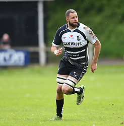 Pontypridd's Chris Dicomidis<br /> Cross Keys v Pontypridd RFC<br /> <br /> Photographer Mike Jones / Replay Images<br /> Pandy Park, Cross Keys.<br /> Wales - 12th May 2018.<br /> <br /> Cross Keys v Pontypridd RFC<br /> Principality Premiership<br /> <br /> World Copyright © Replay Images . All rights reserved. info@replayimages.co.uk - http://replayimages.co.uk