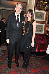 JEREMY KING and LAUREN GURVICH at a party hosted by Justine Picardie, Editor-in-Chief of Harper's Bazaar UK and Glenda Bailey, Editor-in-Chief of Harper's Bazaar US to celebrate the end of London Fashion Week and the biggest-ever March issues of Harper's Bazaar, held at Mark's Club, Charles Street, London on 19th February 2013.