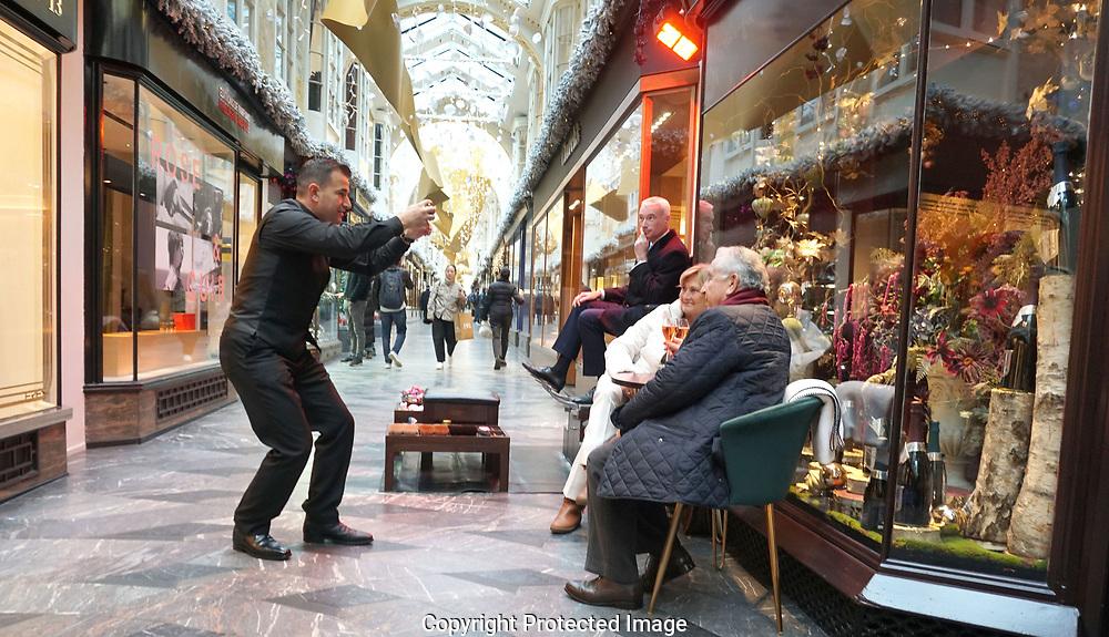 The Burlington Arcade  in London UK<br /> Photo by Dennis Brack