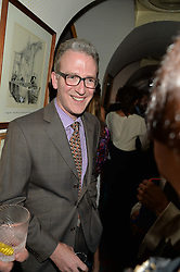 ASHLEY HICKS at an exclusive dinner for Iris Apfel held at Annabel's, Berkeley Square, London on 29th July 2015.