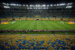 """Estádio Jornalista Mário Filho, mais conhecido como Maracanã, o popular Maraca (""""semelhante a um chocalho"""" em tupi-guarani), é um estádio de futebol localizado no Rio de Janeiro e inaugurado em 1950, tendo sido utilizado na Copa do Mundo de Futebol daquele ano. FOTO: Jefferson Bernardes/Preview.com"""