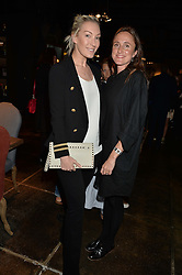 Left to right, OLIVIA BUCKINGHAM and HATTIE RICKARDS at a party to celebrate the publication of Flourish by Willow Crossley held at OKA, 155-167 Fulham Rd, London on 4th October 2016.